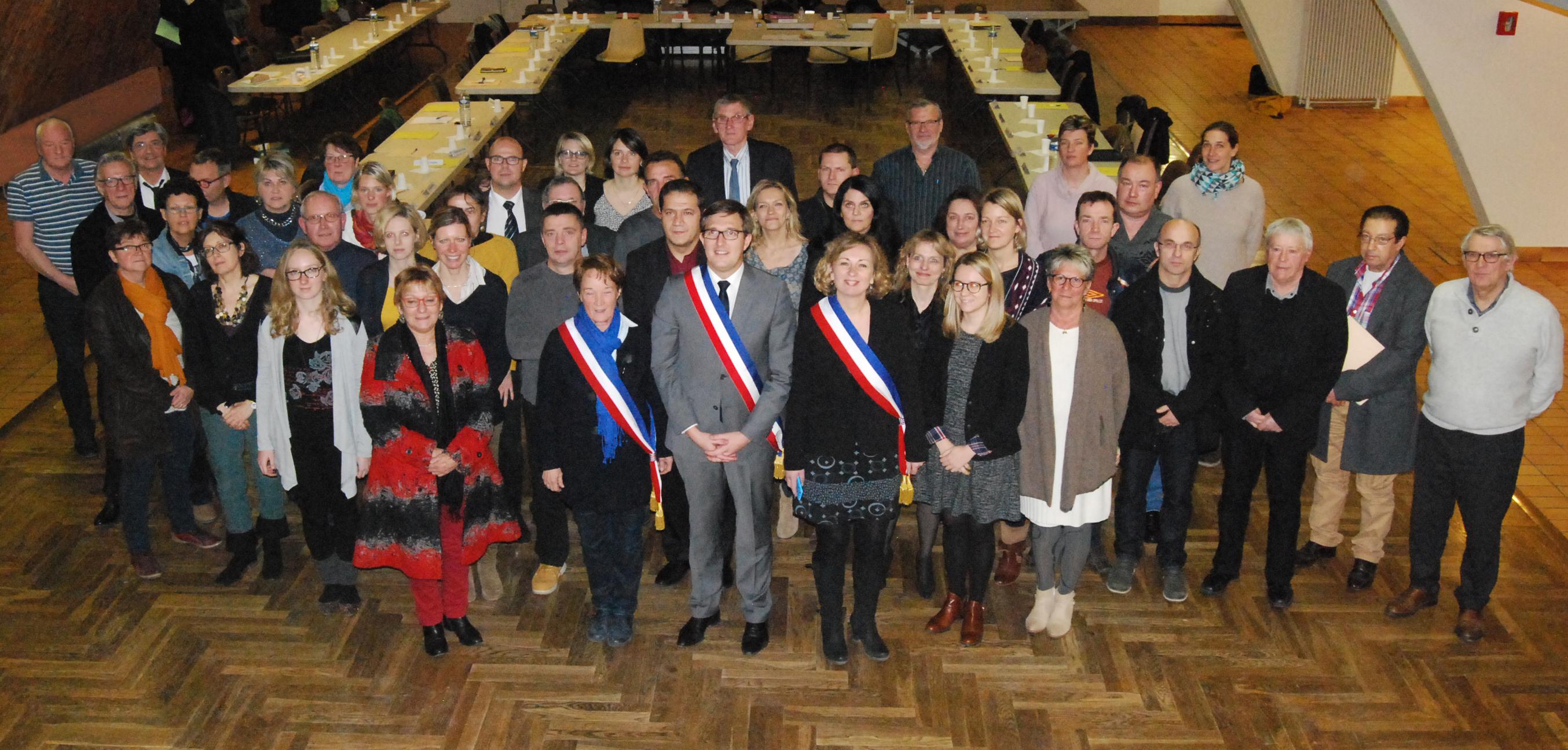 équipe municipale de Rives-en-Seine