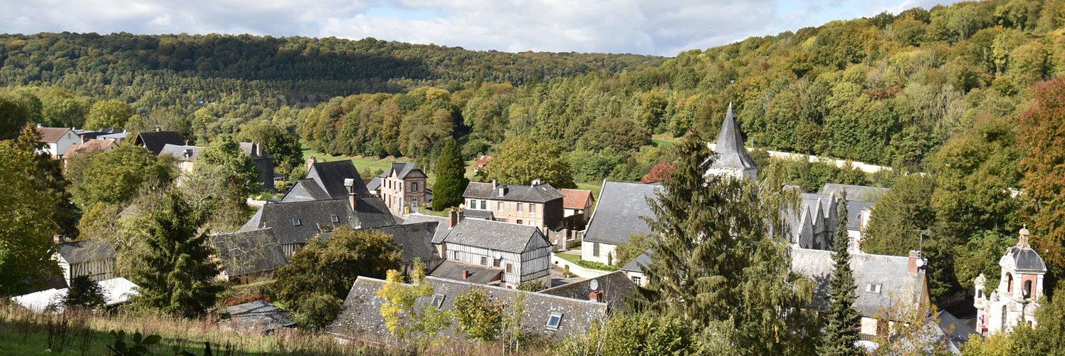 Saint Wandrille-Rançon Outre ses rivières, marais et forêt, l'élément phare du village est l'Abbaye. Sur les routes des abbayes, une communauté 1