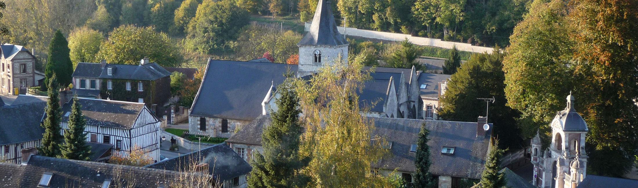 Villequier, Caudebec-en-Caux et Saint-Wandrille-Rançon réunies